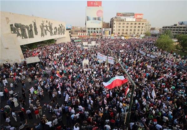 تظاهرات علیه اردوغان در بغداد +عکس