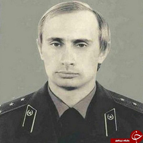 پوتین در لباس نیروهای کا.گ.ب +عکس