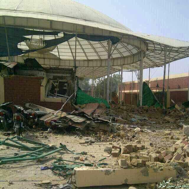 عکس/ حسینیه بقیهالله نیجریه پس از حمله