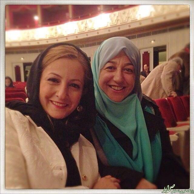 عکس/ سلفی بازیگر زن با همسر ظریف