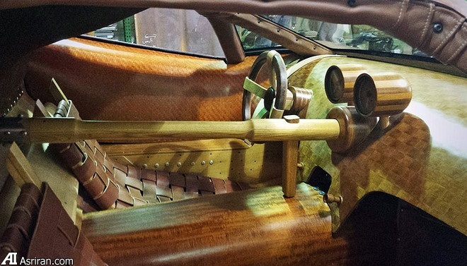 ابرخودرو چوبی! +تصاویر