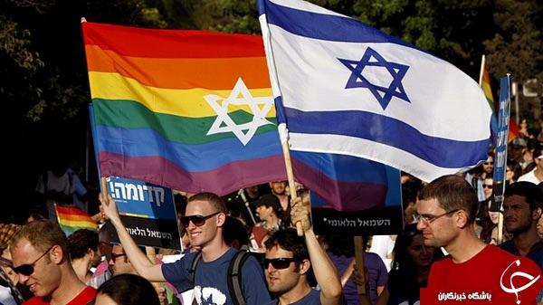 جولان نمادهای همجنس گرایی در سطح شهر ! + عکس
