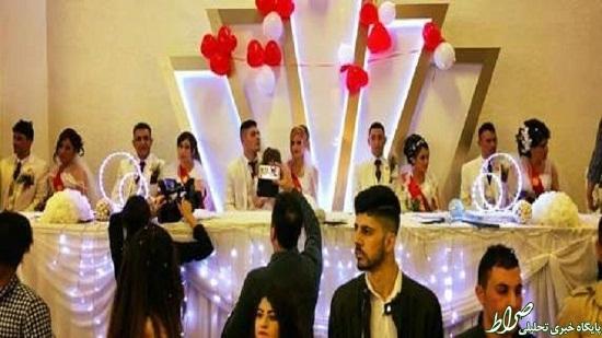 جشن ازدواج دختران ایزدی رهاشده از داعش +تصاویر