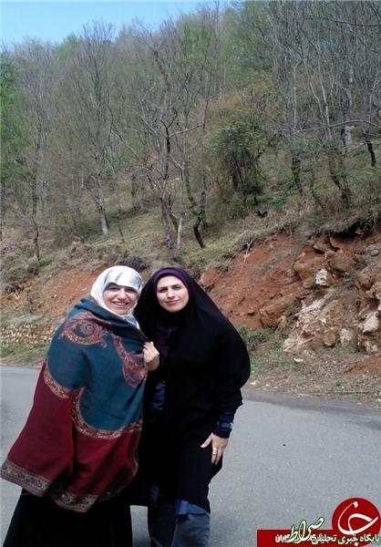 تصاویر /همسر ظریف در رامسر