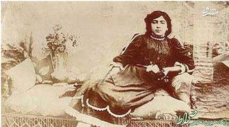 اولین دختر ایرانی که کشف حجاب کرد +عکس