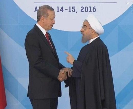 عکس/ هشدار روحانی به اردوغان