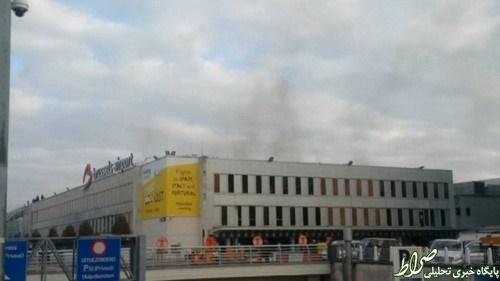 قلب اروپا منطقه جنگی شد/ در انفجارهای بروکسل چه گذشت؟ +تصاویر
