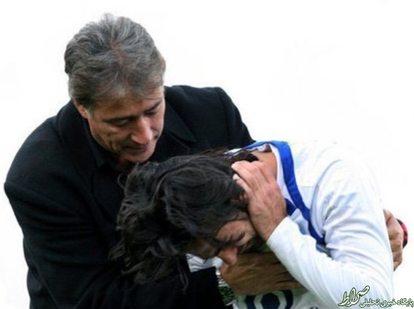 اشکهای مجیدی در آغوش ناصرخان + عکس