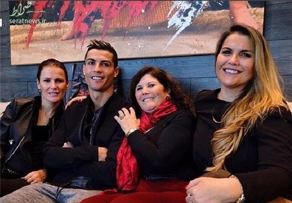 رونالدو به همراه خانواده در مراسم بهترینهای فیفا+عکس