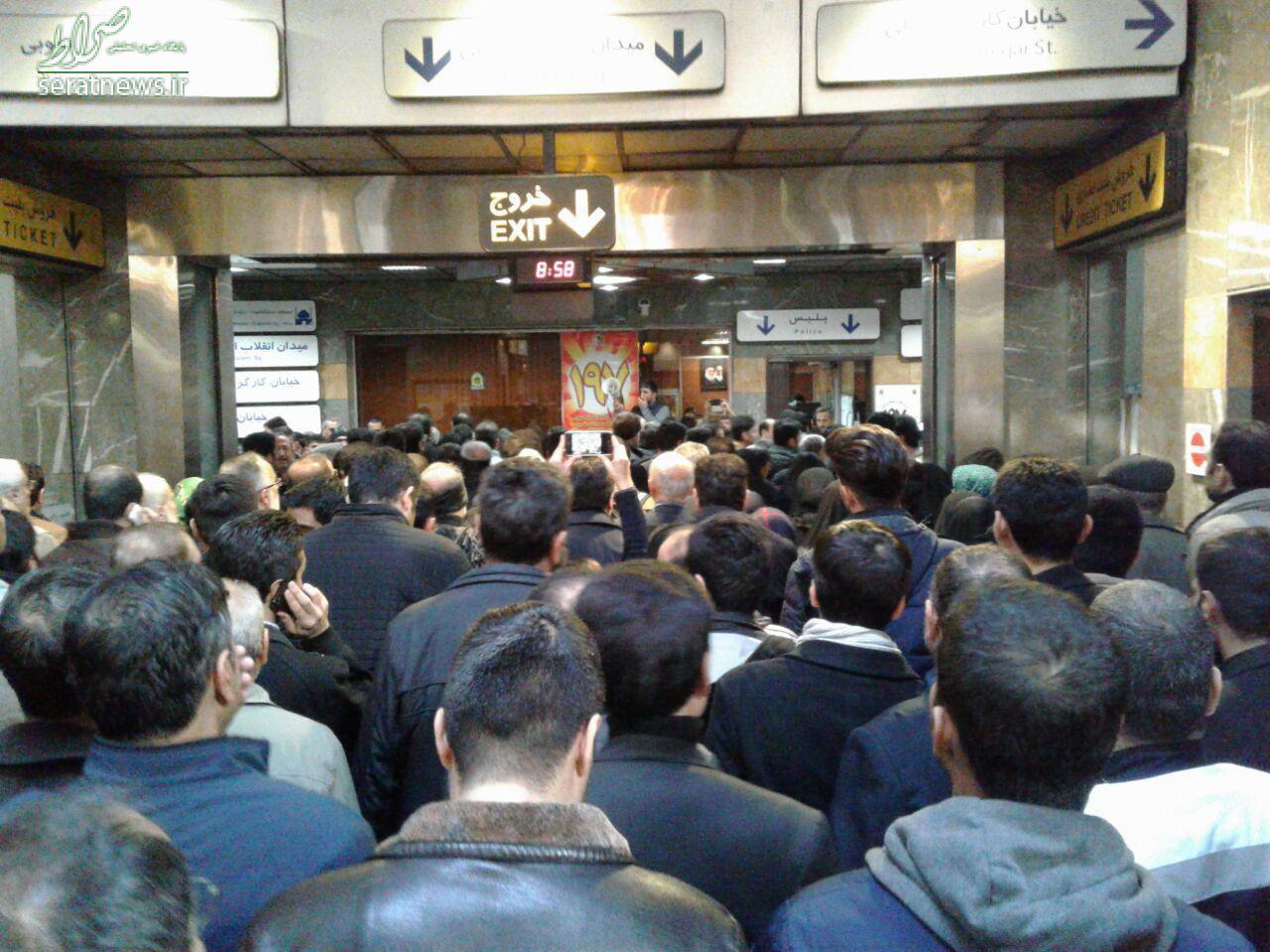 پوشش زنده/ مراسم تشییع پیکر هاشمی آغاز شد +تصاویر