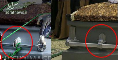 آیا تابوت تشییع شده هاشمی خالی بود؟ +تصاویر