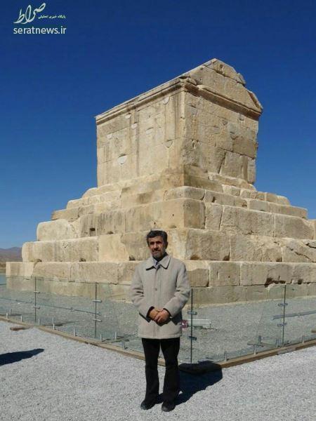 کوروش کبیر عکس احمدی نژاد سوابق عبدالرضا داوری اخبار احمدی نژاد