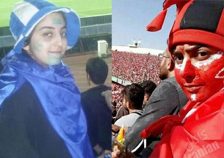 نتیجه تصویری برای بازداشت 8 دختر در دربی 84 پایتخت