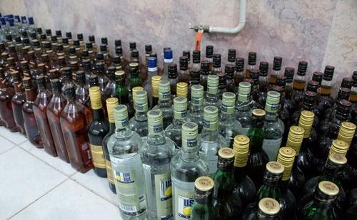 عکس کشف مشروبات الکلی