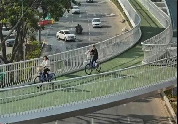 طولانیترین مسیر دوچرخهسواری جهان +تصاویر
