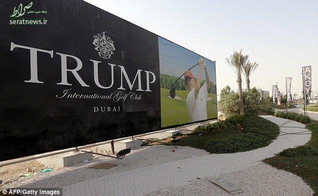 افتتاح باشگاه گلف ترامپ در دبی با حضور پسرانش+تصاویر