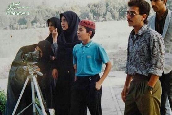عکس/ تیپ اصغر فرهادی در دهه شصت