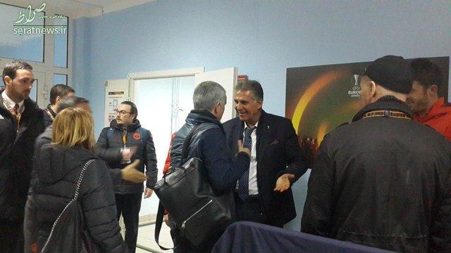 کیروش و مورینیو دیدار کردند +عکس