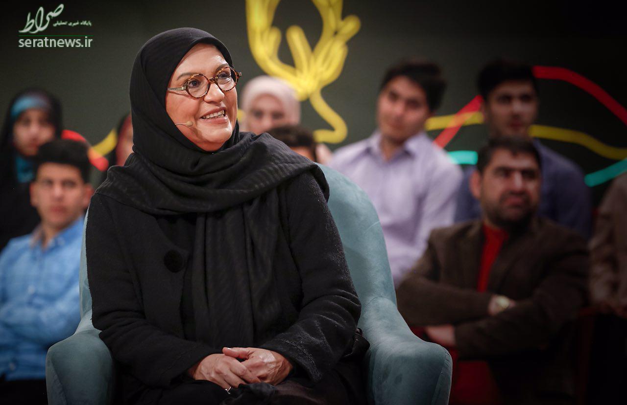 غافلگیری رویا تیموریان روی آنتن تلویزیون