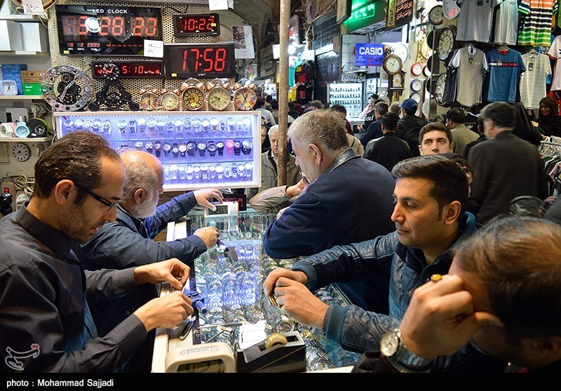 عکسهای شلوغی بازار تهران