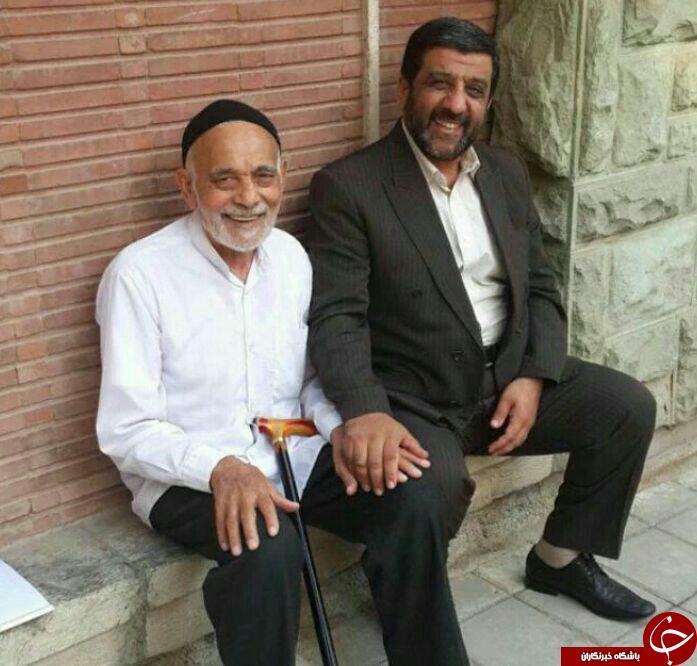 خدمتگزار میهمانان رهبری درگذشت +عکس