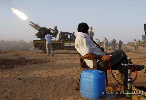 عکس/ نقش قلیان در جنگ عراق
