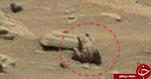 نشانههایی از جنگ هستهای در مریخ+ تصاویر
