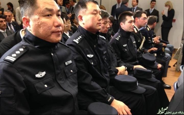 صادرات پلیس چینی به ایتالیا! +تصاویر
