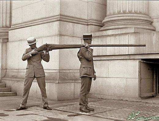 عکس/ اسلحه عجیب مخصوص شکار!
