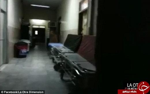 روح سرگردان یک پزشک در بیمارستان + فیلم و تصاویر