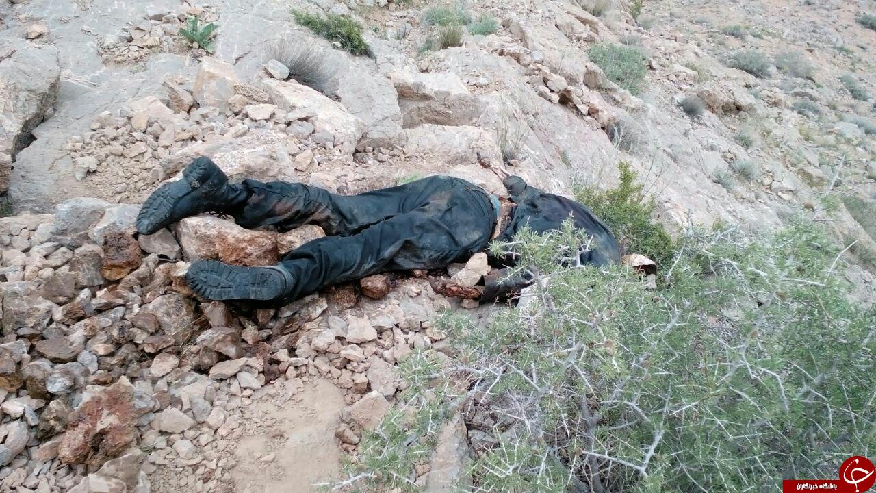 جسدی در ارتفاعات فولادشهر +تصاویر