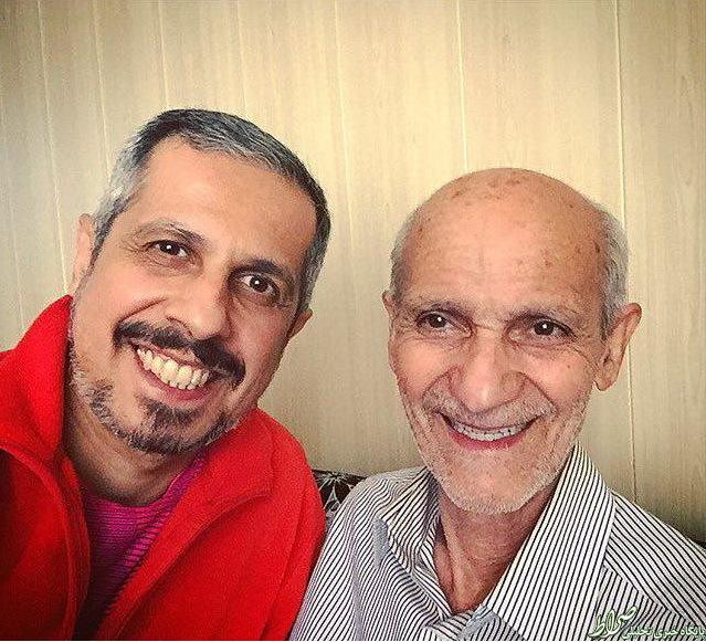 شفافسازی جواد رضویان از عکس پدرش