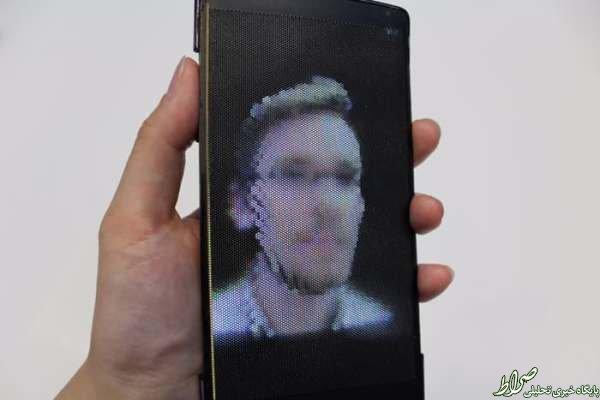صفحه نمایشگر جدید گوشی ها +عکس