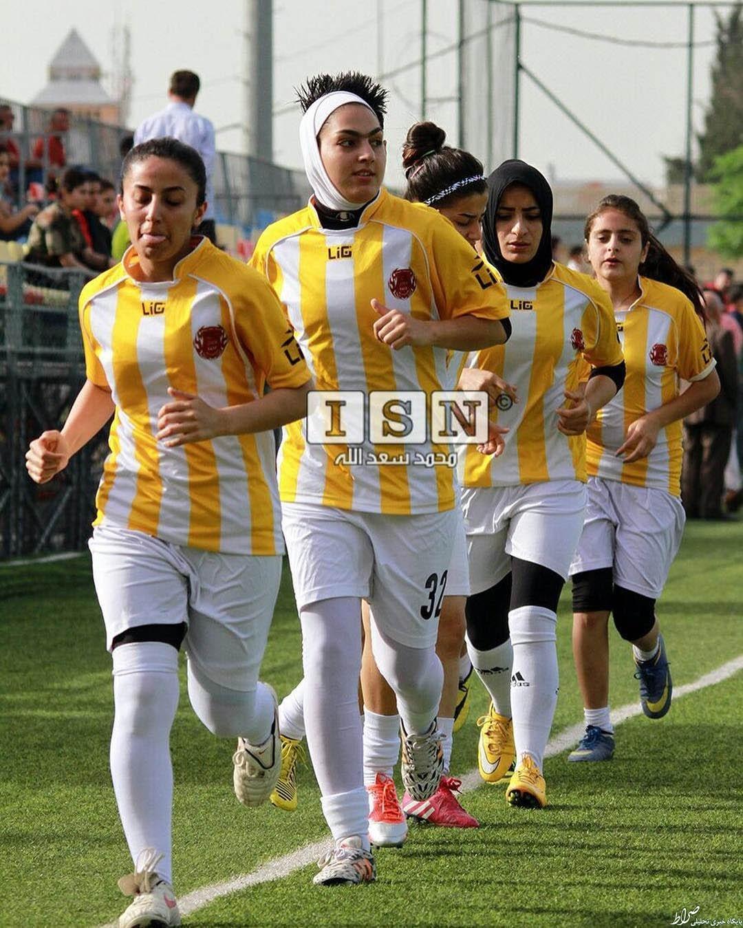 بازیکن زن ایرانی در عراق لژیونر شد+عکس
