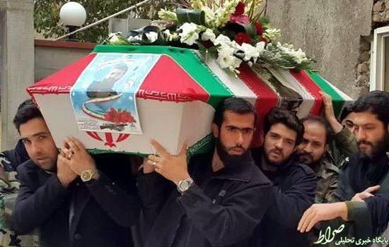 عکس/ شهید مدافع حرم در تشییع مدافع حرم