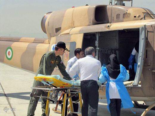 مادر مشهدی در هلیکوپتر زایمان کرد! +تصاویر