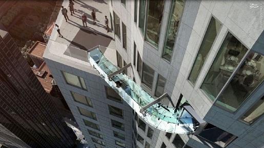 تصاویر/ ترسناکترین سرسره شیشهای دنیا