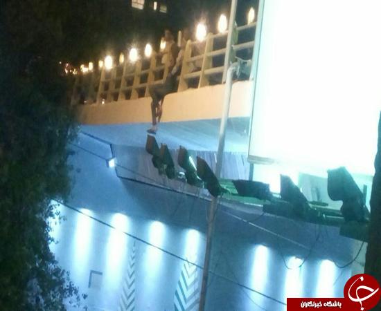 خودکشی در پل صیاد + فیلم و عکس
