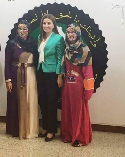 آزادی دو زن کرد از زندان داعش+عکس