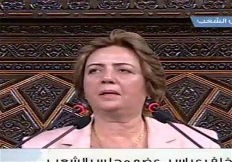 اولین رئیس زن تاریخ پارلمان سوریه +عکس