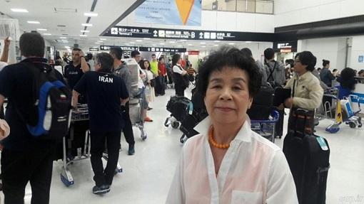 استقبال مادر ژاپنی سعید معروف از ملی پوشان +عکس