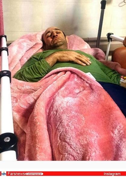 عکس/ «اوس موسی»روی تخت بیمارستان