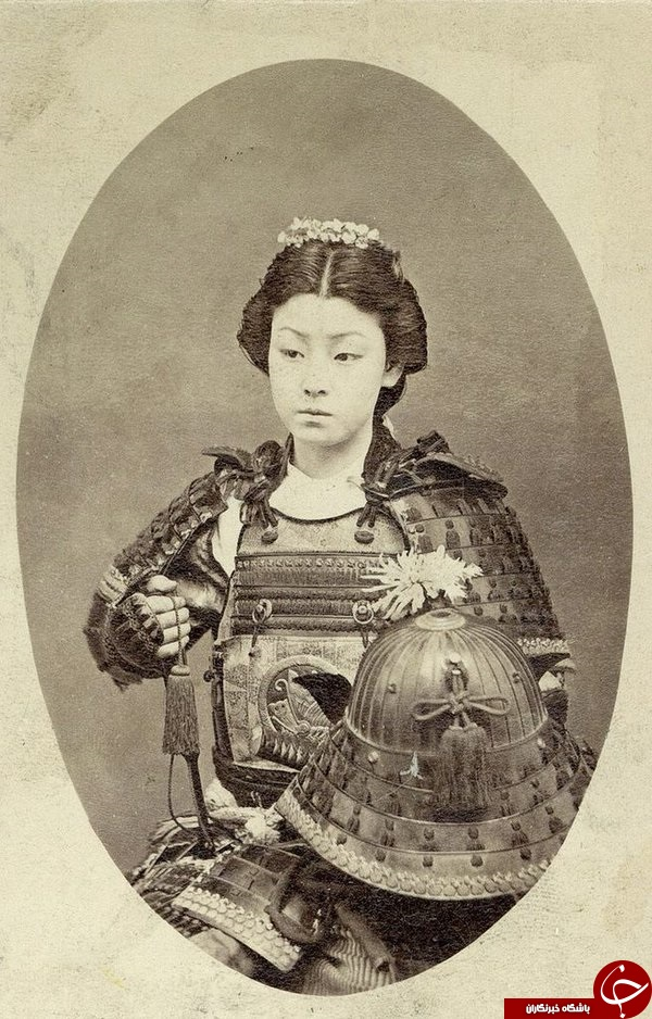 عکس/ زن جنگجو سامورایی