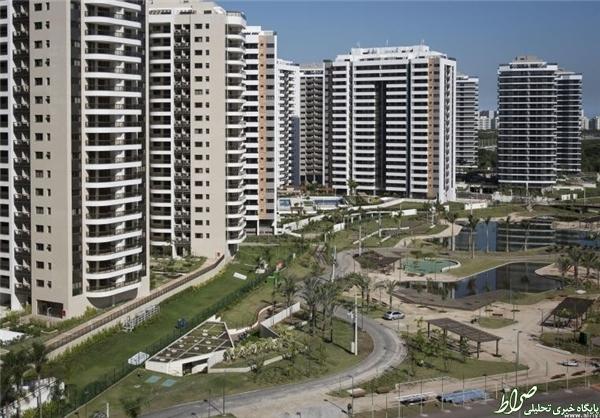 افتتاح دهکده المپیکی ریو دوژانیرو +تصاویر