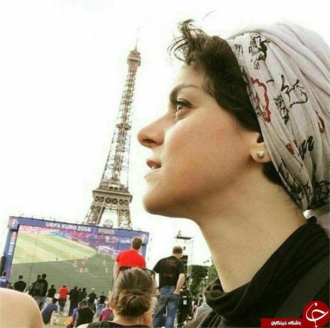 عکس/ بازیگر زن شهرزاد در یورو 2016