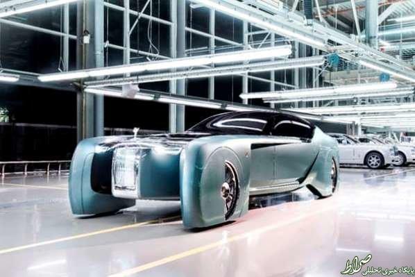 مجللترین خودروی مفهومی دنیا+عکس