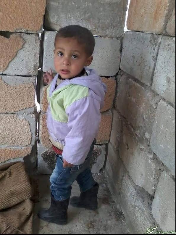 شهادت یک کودک توسط تک تیرانداز داعشی +عکس