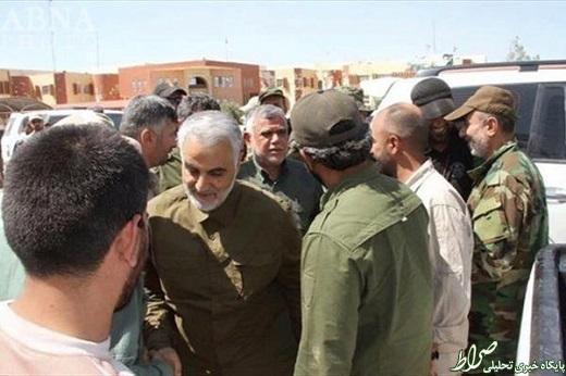 ژنرال سلیمانی وارد نبرد خونین علیه داعش شد +عکس