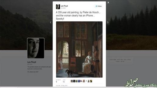 تلفن همراه 350 سال پیش! +تصاویر