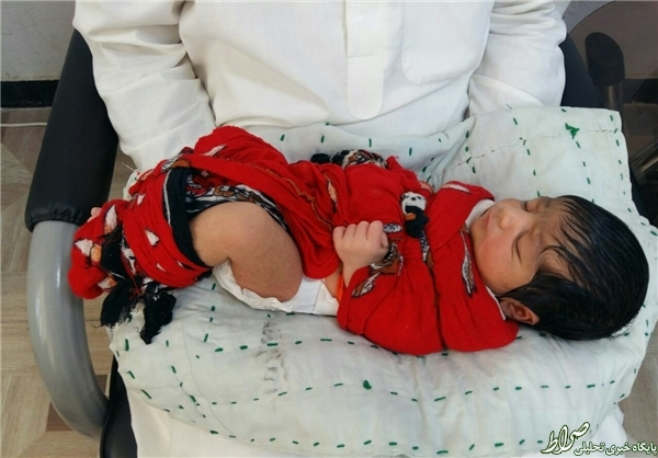 ماجرای نوزادیکه بعد از تولدربوده شد+عکس